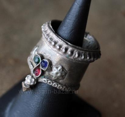 Афганское племенное кольцо.  Афганистан или северо-западный Пакистан, 20-й век,