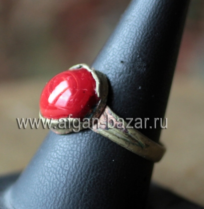 Афганский перстень (Kuchi Tribal Ring) Афганистан, пуштуны-кучи, 20-й век.