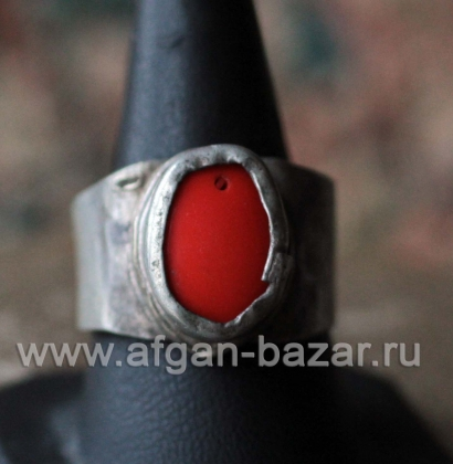 Туркменский перстень. Афганистан, туркмены, 20-й век - turkoman tribal ring