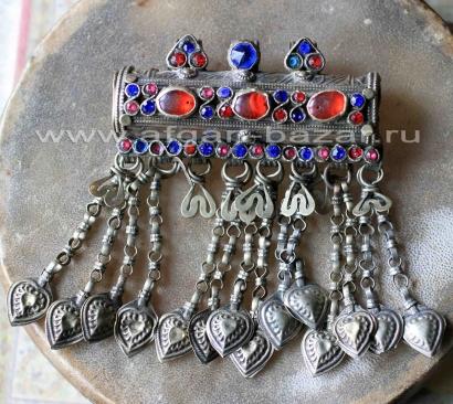 Традиционный афганский цилиндрический амулет - Тавиз