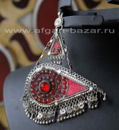 Заколка для волос - племенные украшения Кучи (Tribal Kuchi Jewelry)