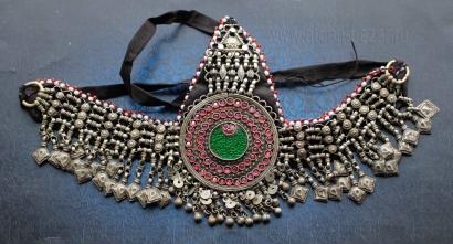 """Афганская налобная повязка """"Силсила"""" (Silsila). Пакистан, племена Кучи, конец 20"""