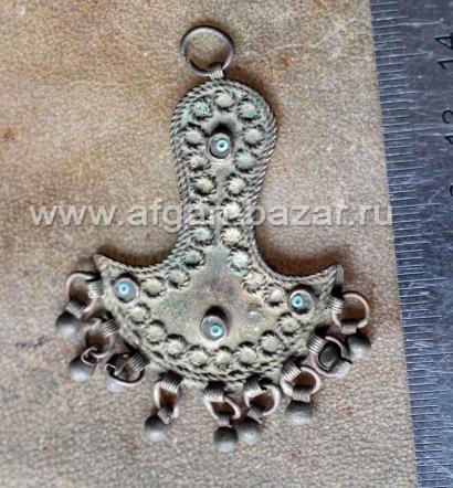 Старинный анатолийский амулет. Центральная Анатолия, территория Османской импери