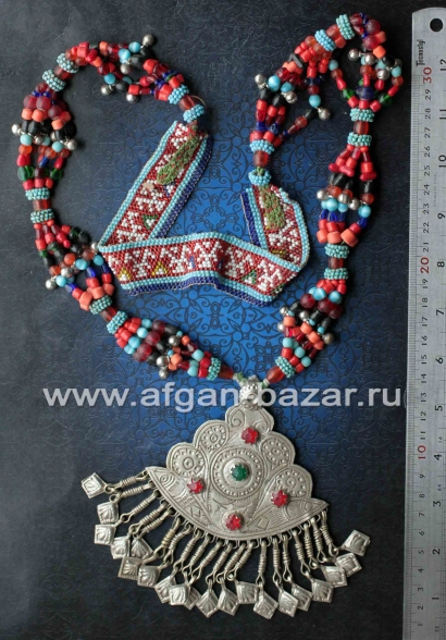 Кашмирское колье - племенные украшения Кучи (Tribal Kuchi Jewelry)