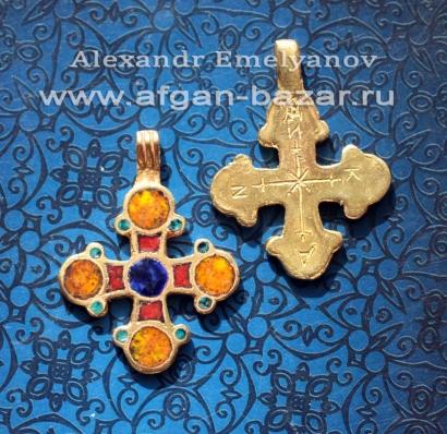 Реплика-реконструкция средневекового византийского креста
