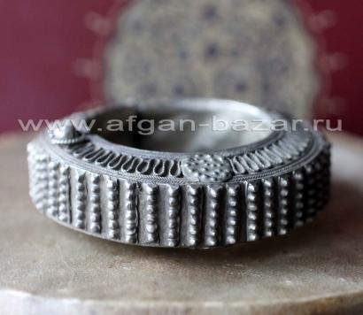 Старый эфиопский браслет - коллекционный экземпляр