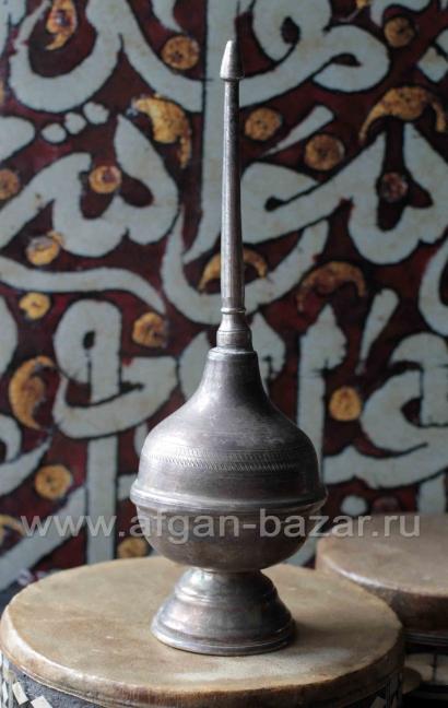 """Старый египетский флакон для духов или розовой воды """"Кумкум"""". Египет, середина -"""