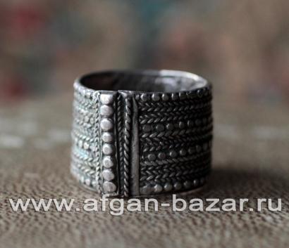 Старинное бедуинское племенное кольцо. Оман, первая половина - середина 20-го ве