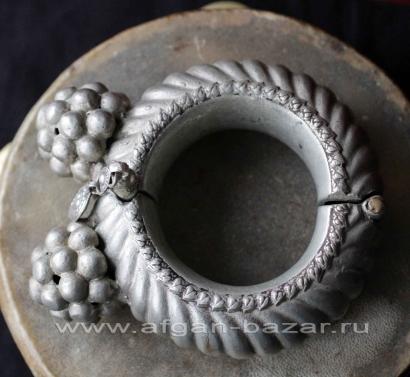 Индийский племенной браслет. Индия, Раджастан, Кучи-Банджара, 20-й век
