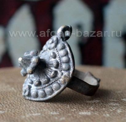 Индийское кольцо на большой палец, часть гарнитура с браслетом