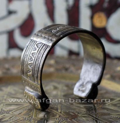 Старый берберский браслет. Западная Сахара, Марокко, Мавритания, Мали или Нигер,