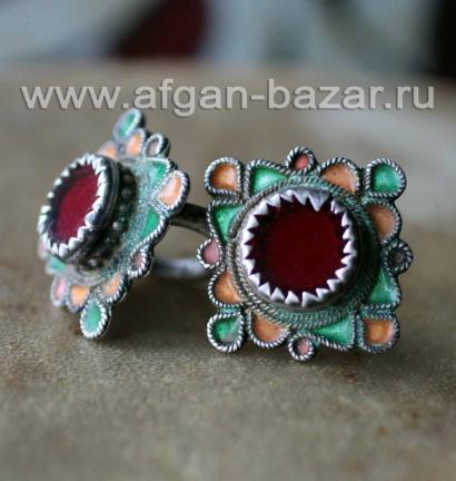 Берберские кольца - украшения для волос. Марокко, Анти-Атлас (Тизнит), 20-й век.