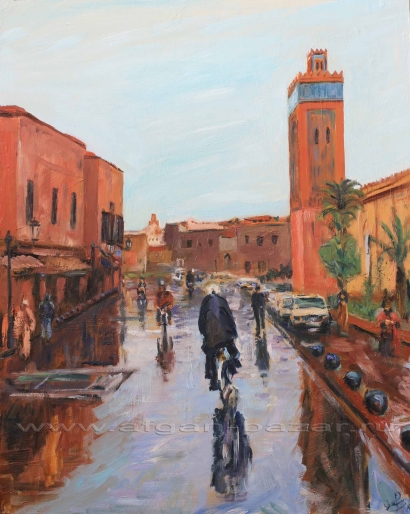 Александр Емельянов. Rainy Marrakesh (Марокко, дождливый день в Марракеше)