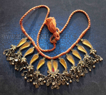 Уникальное индийское колье. Индия, Раджастан, середина 20 века
