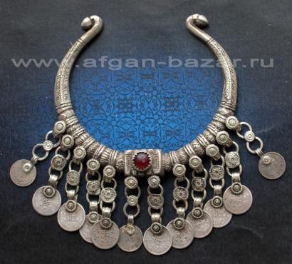 """Гривна-пектораль """"Ожей"""" - племенное украшение, народность Белуджи. Юго-восточный"""