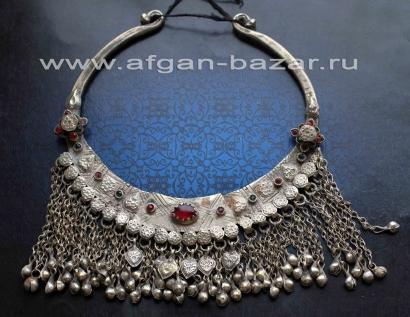 """Гривна """"Огай"""" (""""Ожей"""") - племенное украшение.  Пакистан, долина реки Сват, втора"""