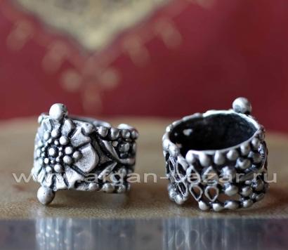 Турецкое кольцо в стиле Трайбл