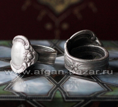 Кольцо из ювелирного сплава в стиле Модерн