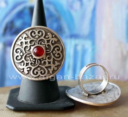 Кольцо из ювелирного сплава в стиле Ориентализм