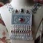 Колье в казахском стиле - украшения Трайбл