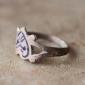 Афганский винтажный перстень с современной вставкой с горячей эмалью