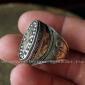 Туркменский перстень в казахском стиле,  Афганистан, современная работа