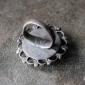 Кашмирское племенное кольцо с солярной символикой - афганское традиционное украш