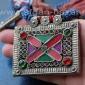 Старое афганское племенное колье с амулетами Тавиз (Tribal Kuchi Jewelry)