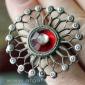 """Старое афганское кольцо с солярной символикой """"Ангуштар"""" (Angushtar)"""