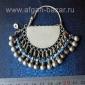 Афганская племенная серьга - височная подвеска (без пары) - Tribal Kuchi jewelry
