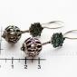 Афганские серьги в стиле племенных украшений Кучи (Kuchi Jewelry)