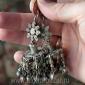 Старые кашмирские серьги. Пакистан (Кашмир) - племена Кучи (Kuchi jewelery), 20-