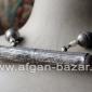 Афганское винтажное колье из деталей старинных украшений