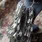 Афганские племенные височные подвески. Афганистан или Пакистан - племена Кучи (K