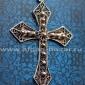 Старинная балканская филигранная подвеска - нательный крест