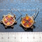 Серьги в византийском стиле - авторская реплика-реконструкция средневекового виз