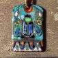 """Александр Емельянов. кулон-амулет в древнеегипетском стиле """"Скарабей"""".  Медь, го"""