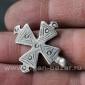 Старинный эфиопский нательный крест.  Эфиопия, 19й - первая половина 20-го века