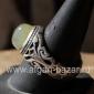 Винтажный иранский перстень с халцедоном. Иран, 20-й век