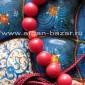 Иранские четки натурального коралла. Иран, современная работа