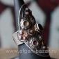 Традиционное кашмирское кольцо с горячей эмалью