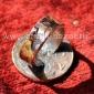 """Александр Емельянов. Кольцо """"Британия"""". Медь, ковка, штамп, английская монета 2"""