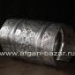 Старинный берберский серебряный браслет с растительно-геометрическим орнаментом