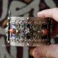 Браслет в алжирском стиле перегородчатой эмалью