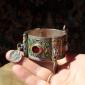 Марокканский браслет с горячей перегородчатой эмалью.  Марокко, Тизнит, 20 век