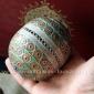 """Традиционная марокканская бусина """"Тагамут"""" (Tagamouth) с горячей эмалью"""