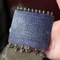 Традиционная мультанская подвеска-пектораль с горячей эмалью - часть колье.  Пак