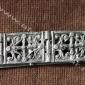 Старинный ближневосточный пояс с изображением христианской символики