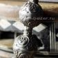 Старинные османские бусы из фатурана в серебряной филигранной оправе