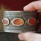 Пара старинных татарских браслетов. Туркестан, татары или казахи, 19-й - начало